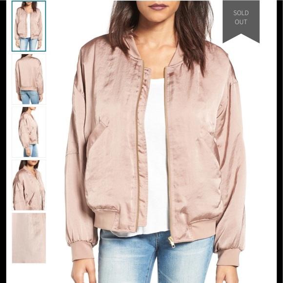 f280e5ea2 Leith bomber jacket XS , dusty rose colored